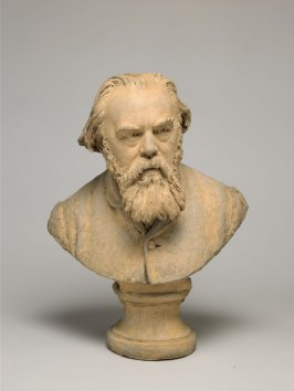 Bust of Albert Ludovici (1820-1894), English painter