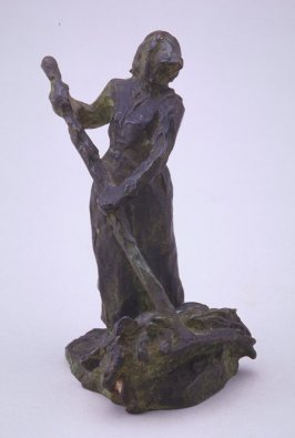Woman with a Rake