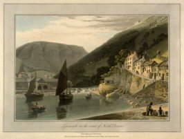 Lynmouth, on the Coast of North Devon
