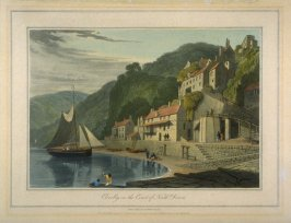 Clovelly, on the Coast of North Devon
