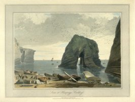Scene at Hempriggs, Caithness, from Ayton's 'Voyage Round Great Britain' (London, 1814-1825) Vol.V