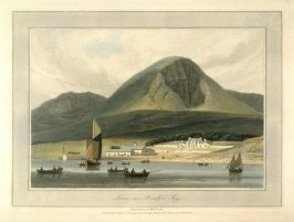 Liveras near Broadford, Skye, from Ayton's 'Voyage Round Great Britain' (London, 1814-1825) Vol.IV