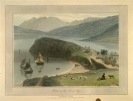 Portree on the Isle of Skye, from Ayton's 'Voyage Round Great Britain' (London, 1814-1825) Vol.IV