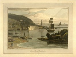 Port Patrick Wigtonshire from Ayton's 'Voyage Round Great Britain' (London, 1814-1825) Vol.II