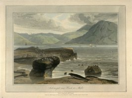 Loch-na-gael near Knock on Mull, from Ayton's 'Voyage Round Great Britain' (London, 1814-1825) Vol.III