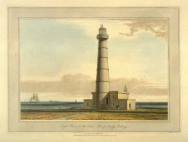 Light House on the Start, Isle of Sandy, Orkney, from Ayton's 'Voyage Round Great Britain' (London, 1814-1825) Vol.V