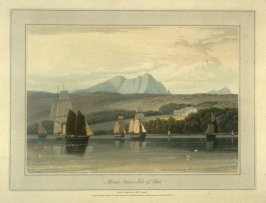 Mount Stuart Isle of Bute, from Ayton's 'Voyage Round Great Britain' (London, 1814-1825) Vol.III