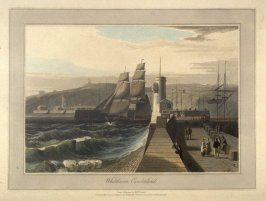 Whitehaven Cumberland, from Ayton's 'Voyage Round Great Britain' (London, 1814-1825) Vol.II