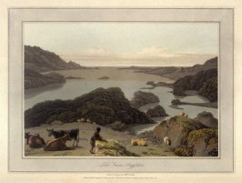 Loch Swene, Argylshire, from Ayton's 'Voyage Round Great Britain' (London, 1814-1825) Vol.III