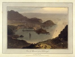 View of Ilfracombe, from Hilsborough, from Ayton's 'Voyage Round Great Britain' (London, 1814-1825) Vol.I