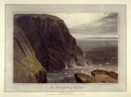 The Mull of Galloway Wigtonshire, from Ayton's 'Voyage Round Great Britain' (London, 1814-1825) Vol.II