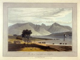 The Isle of Arran taken near Ardrossan, from Ayton's 'Voyage Round Great Britain' (London, 1814-1825) Vol.III