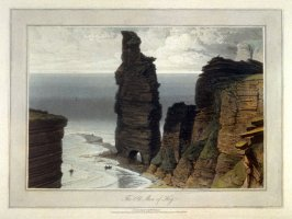 The Old Man of Hoy, from Ayton's 'Voyage Round Great Britain' (London, 1814-1825) Vol.V