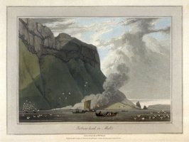 Gribune-head in Mull, from Ayton's 'Voyage Round Great Britain' (London, 1814-1825) Vol.III
