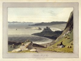 Duntulm Isle of Skye, from Ayton's 'Voyage Round Great Britain' (London, 1814-1825) Vol.IV