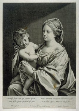 La Nativite--Mother and Child