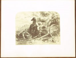 Noon, accompanied by verses by W. C. Bryant, fourth plate in the book Autograph Etchings by American Artists (New York: W. A. Townsend & Company, 1859)