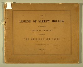 The Legend of Sleepy Hollow by Washington Irving ([New York]: The American Art-Union, 1849)
