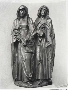 Mourning Virgin and Saint John the Evangelist