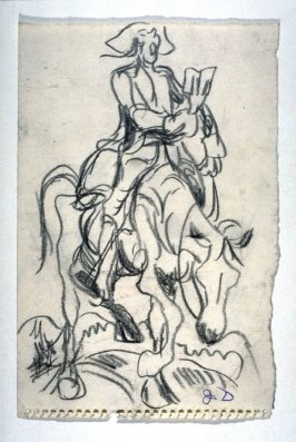 Figure on horseback
