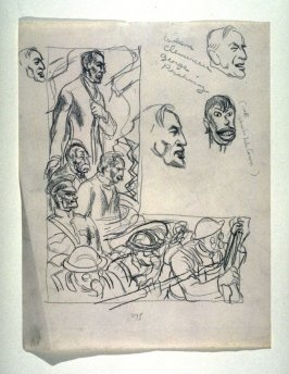 Sketches of Wilson, Clemenceu...