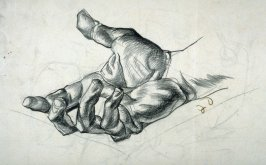 [Study of a Hand] / Verso: crossed-out drawing]