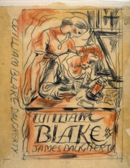 Book illustration study (William Blake)