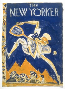 Study for cover of The New Yorker, September 5, 1925 issue
