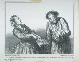Ah! Théophile . . . , j'en apprends de belles...published in the album Charges du jour