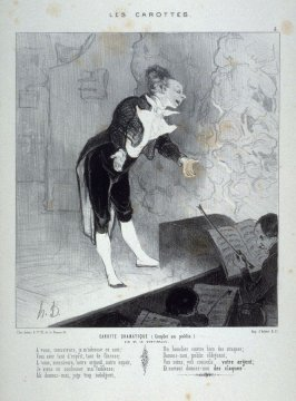 Carotte dramatique no. 5 from the series Les carottes