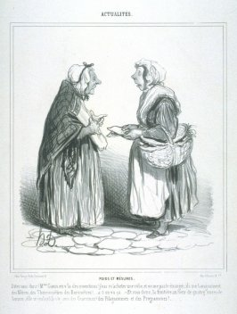 POIDS ET MÈSURES, from the series ACTUALITÉS published in La Caricature 2 February 1840