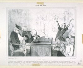 LA JUSTICE CHINOISE, pl. 5 from the series VOYAGE EN CHINE