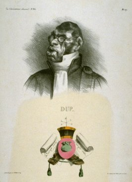 Dupin Ainé published in La Caricature 14 June 1832
