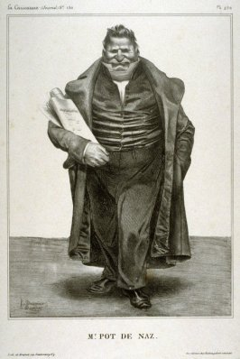 Mr. Pot de Naz plate no. 270 published in La Caricature, 2 May 1833