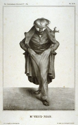 Mr. Vieux-Niais plate no. 178 from La Caricature published 30 May 1833