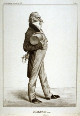 Mr. SÉBAST...., pl. 281 from La Caricature (Journal) No. 136., published 13 June 1833