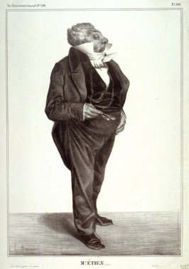 Mr. ÉTIEN...., pl. 283 from La Caricature (Journal) No. 136., published 13 June 1833