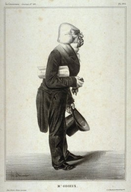 Mr. Odieux., pl. 285 from La Caricature (Journal) No. 137., published 20 June 1833
