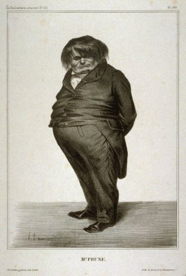 Mr. Prune, pl. 288 from La Caricature (Journal) No. 138, published 27 June 1833