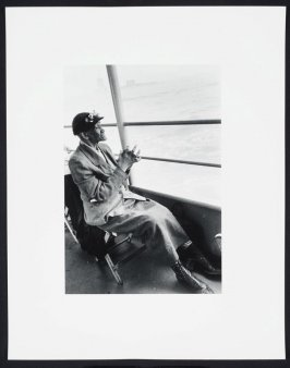 Untitled [Elderly Woman, Staten Island Ferry] from Time of Change