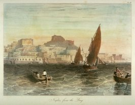 Naples, from the Bay