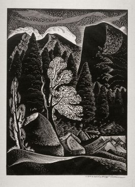 Untitled (mountains)