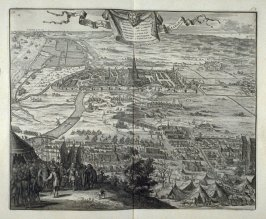 The Siege of Haarlem - Pl.10 from: Netherlands 1566-1672