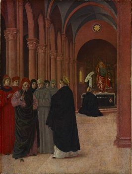 Scene from the Life of Saint Thomas Aquinas: The Debate with the Heretic