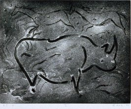 Drawing V from the portfolio Torchlight Cave Drawings
