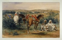 Arabs and Horses near Tangiers