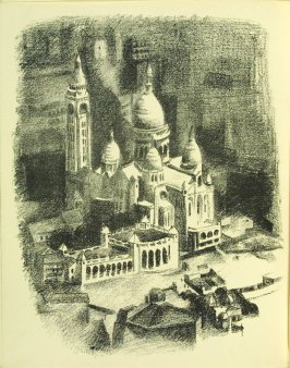 Untitled, frontispiece, in the book Allo! Paris! by Joseph Delteil (Paris: Éditions des Quartes Chemins, 1926)