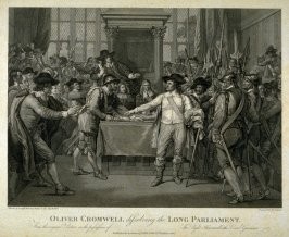 Oliver Cromwell Disolving The Long Parliament