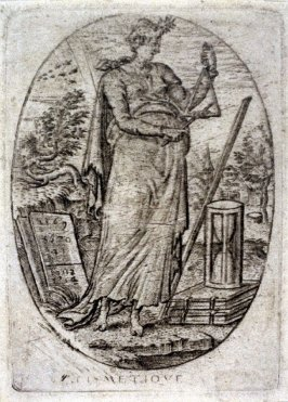 Arithmetic. From Minerva, Wisdom and the Principal Sciences (set of 12 engravings)