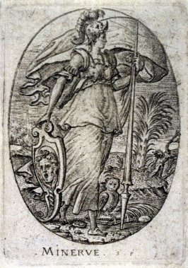 Minerva. From Minerva, Wisdom and the Principal Sciences (set of 12 engravings)